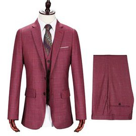 D'honneur hommes costume marque tuxedos masculino rouge
