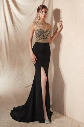 Robe de bal avec cristal en tulle excellent chic intemporel