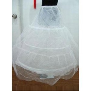 Eye Catching simple parole longueur princesse crinolines